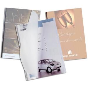 UniBind SteelMat Matte Binding Covers - 1mm – 8.5 by 11 inch