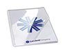 Clear Binding Covers 8.5 By 11 inch VeloBind PrePunched Square Corner Glossy Covers